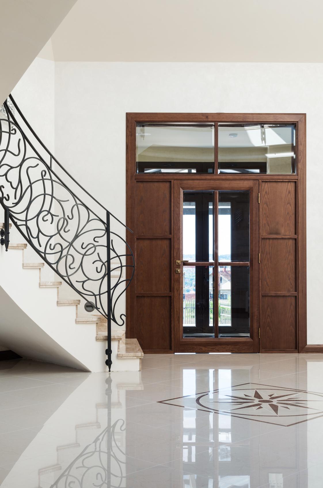 Sauberlauf Im Eingangsbereich Fur Saubere Boden Im Haus